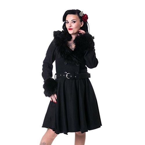 Rockabella Femme Noir Rockabella Manteau Manteau Femme 70w8qndI4
