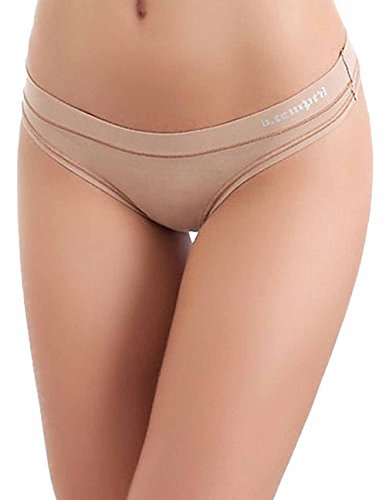 b.tempt'd by Wacoal 'Fits Me Fits You' Thong. All Natural. Pack of 3
