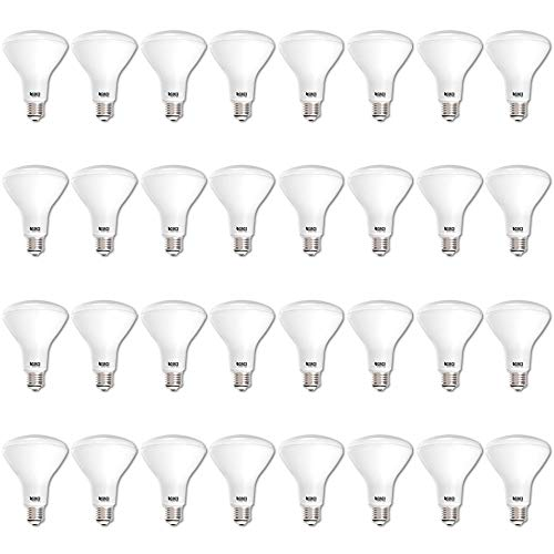 Sunco Lighting 32 Pack BR30 LED Light Bulb 11 Watt (65 Equivalent) Flood Dimmable 3000K Kelvin Warm White 850 Lumens Indoor/Outdoor 25000 Hrs for Use in Home, Office and More UL & Energy Star Listed