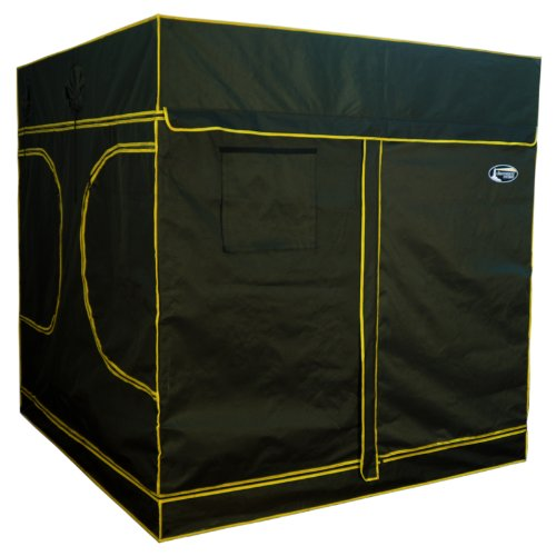 Lighthouse Hydro Hydroponics Grow Tent, 78 by 78 by 78-Inch