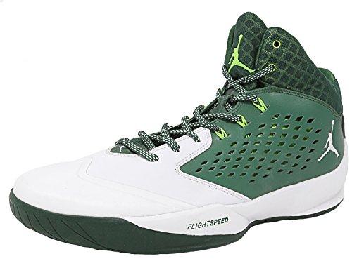 Nike Jordan Rising High Basketball Schuhe Grün Weiß