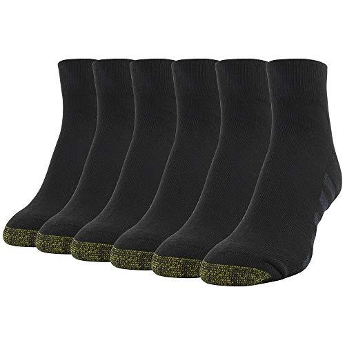 Gold Toe Womens Cool Quarter Socks, 6 Pairs