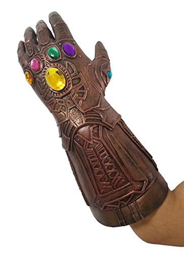 baellerry Halloween Costume Infinity War Thanos Infinity Gauntlet Gloves (Bronze) by baellerry (Image #2)