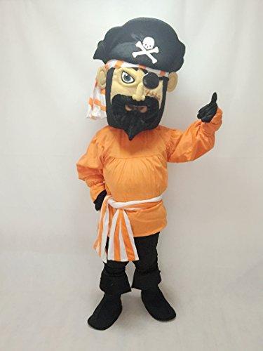 Fierce Pirate Mascot Costume