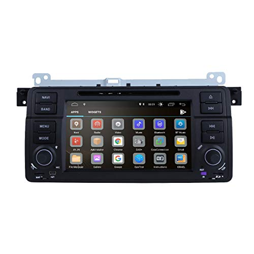 Ddr3 Mid 2006 System - Android 9.0 OS Quad Core 1024600 HD Touchscreen Car Radio DVD Player with GPS Navigation fit for BMW 3 Series E46 M3 318 320 325 330 335
