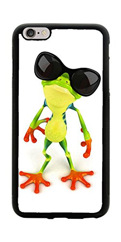 VUTTOO Case for Apple iPhone 7 Plus 5.5inch Only (NOT FIT 4.7inch) - Funny Frog With Sunglasses Case - Shock Absorption Protection Phone Cover - Luxury Online Sunglasses Buy