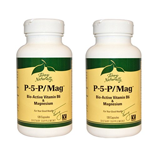 Terry Naturally/Europharma P-5-P/Mag 120 Capsules -2 Pack