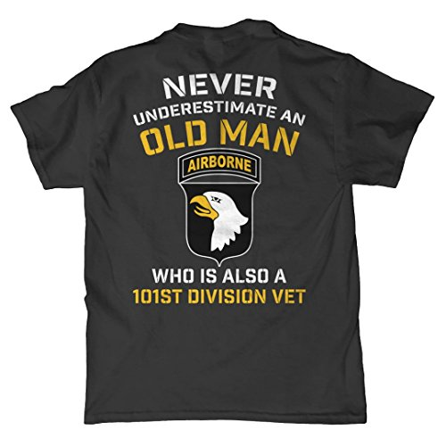 Minnesota Bobs Never Underestimate an Old Man 101st Airborne