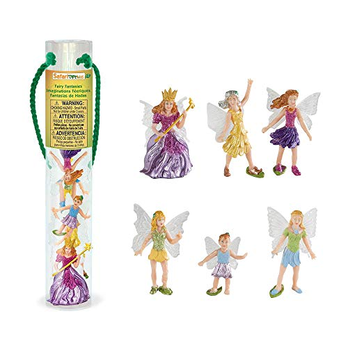 Safari Ltd Fairy Fantasies Toy Figurine TOOB, Including 6 Winged Fairies for $<!--$11.20-->