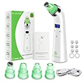 Facial Treatment Home Service - Blackhead Remover Vacuum - Electric Pore Vacuum Cleaner Blackhead Extractor Tool Device Comedo Removal Suction Microdermabrasion Machine Beauty Device with LED Display for Facial Skin Treatment