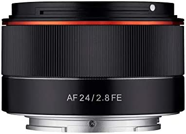 Samyang SA7061 - Objetivo AF 24 mm F2.8 para cámaras sin Espejo ...