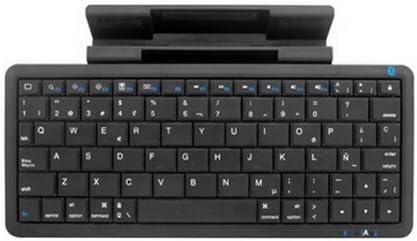 Woxter Mini Keyboard K60 - Miniteclado inalámbrico, conexión USB y Bluetooth, Color Negro