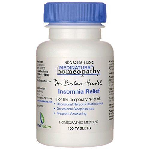 Dr. Barbara Hendel Relief Tablets, Insomnia, 100 Count