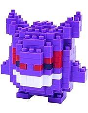 nanoblock NBPM-007 Nanoblock-NBPM-007-Pokemon Gengar constructiespeelgoed, meerkleurig