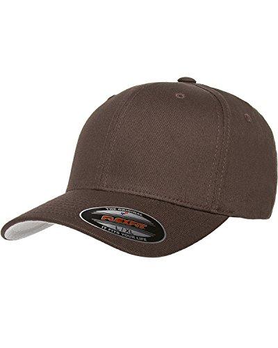Premium Original Blank Flexfit V-Flexfit Cotton Twill Fitted Hat Cap Flex Fit 5001 Small / Medium - - Structured Cap Flex