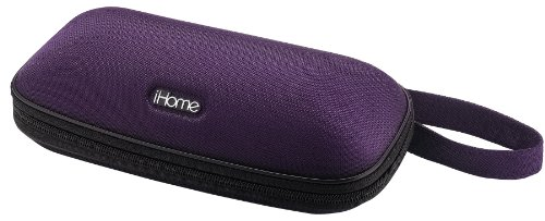 6w Docking Ipod - iHome iP37 Portable Stereo Speaker Case for iPod and iPhone (Purple)