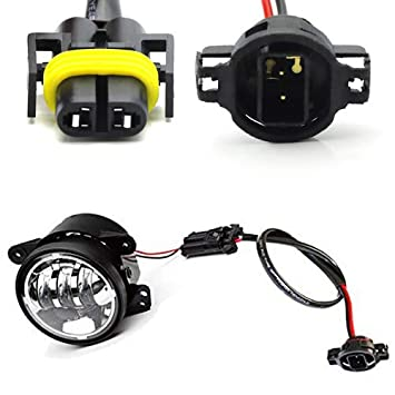 iJDMTOY (2) LED Fog Lamps Conversion Adapter Wires For 2010 and up on 1998 jeep grand cherokee wiring harness, 2010 toyota tundra wiring harness, 1994 jeep wrangler wiring harness, 2011 jeep grand cherokee wiring harness, 2008 hyundai santa fe wiring harness, 1988 jeep wrangler wiring harness, 2005 chrysler pacifica wiring harness, 2007 jeep wrangler wiring harness, 1999 jeep grand cherokee wiring harness, 2002 jeep wrangler wiring harness, 2010 dodge charger wiring harness, 2006 jeep wrangler wiring harness, 2004 jeep grand cherokee wiring harness, 2005 jeep wrangler wiring harness, 2000 jeep grand cherokee wiring harness, 1993 jeep wrangler wiring harness, 2010 chevrolet impala wiring harness, 2010 ford escape wiring harness, 2010 honda civic wiring harness, 1991 jeep wrangler wiring harness,