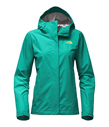 The North Face Women's Venture 2 Jacket Pool Green Heather - M