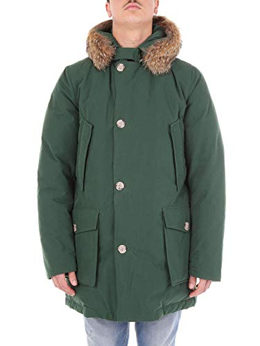 Cappotto Woolrich Wocps2251by20green Uomo Poliestere Verde 7rrEdqAx