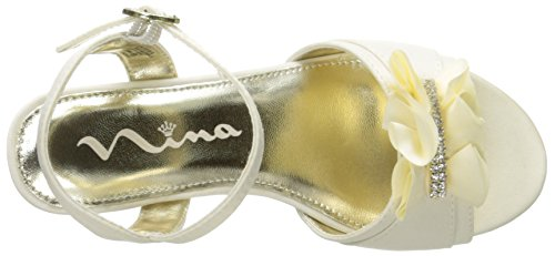Little Nina Kid Big Sandal Kid Dress M Kid 1 Ivory US Little Winnie aqxP1RwaU