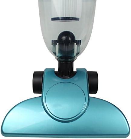 Sistema filtrante: Filtro HEPA efficiente e lavabile Aspirapolvere 2 In 1 Bastone In Posizione Verticale E Portatile Aspirapolvere Senza Sacchetto Leogreen Blu Capacit/à del contenitore raccogli polvere: 1,3 L