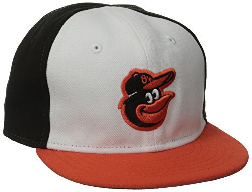 New Era Men's My First Authentic Collection Baltimore Orioles Home Youth White Hat 6