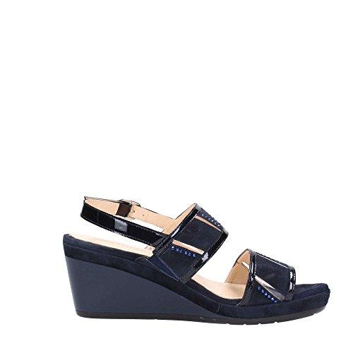 Melluso Donna Sneakers Scuro R7626 Blu rvwraTq
