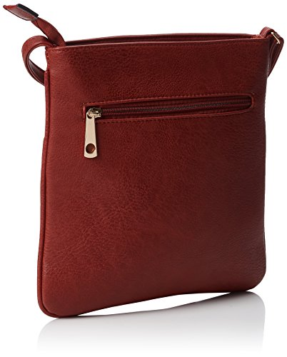 Body Bag Red Bag Women's Burgundy Cross SwankySwans Zipper Emily wnFXqT7R