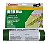 6 Ft Bathtubs Thermwell / Frost King DE300 12' ft 7 Green Manual Roll Out Downspout Extender - Quantity 6 by Frost King