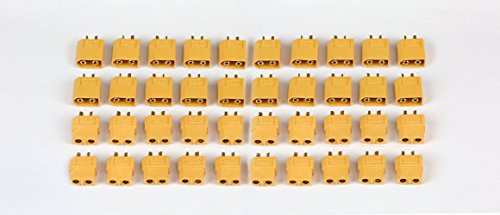 SummitLink 20 Pairs XT60 Male Female Connector for High-Amp Lipo Batteries