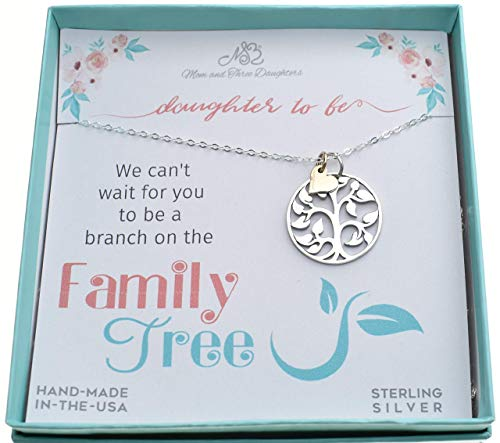 Tree Of Life Charm Pendant In Sterling Silver On An 18