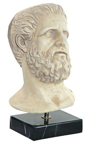 Hippocrates Ancient Greek Physician Bust