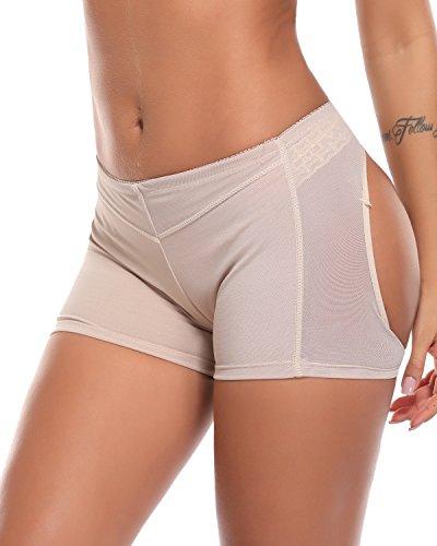KIWI RATA Women's Butt Lifter Body Shaper Tummy Control Seamless Panty