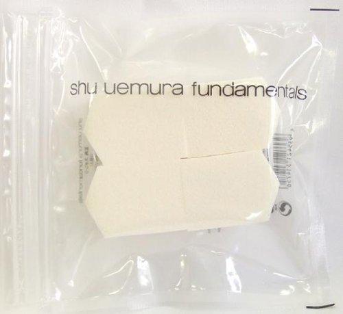 Shu Uemura Pentagon Sponge 4pcs, 1pack