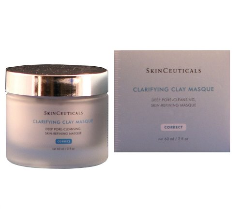 Skinceuticals Clarifying Clay Masque Deep Pore-cleansing Skin-refining Masque, 2.4-Ounce Jar S0736401