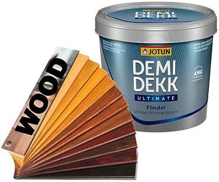 Jotun Demidekk 010- Tinte para madera (0,75 l), color nogal ...