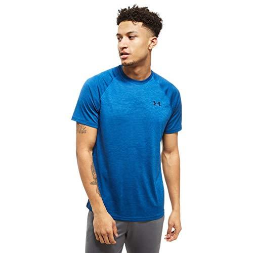Under Armour Men's Tech Short Sleeve T-Shirt, Academy /Steel, X-Large