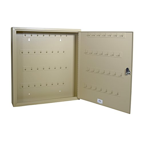 Steelmaster Fob Friendly Key Cabinet, 60 Key Capacity, Sand (201F06003)