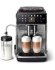 Philips Saeco Espressomachine - 16 Koffievariaties - 6 Gebruiksprofielen - Kleurendisplay - Dubbele Espresso - Latteduo melksysteem - Keramische maalschijven - Automatische reiniging - SM6585/00
