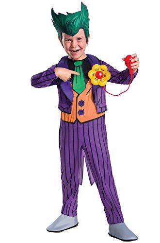 Rubie's Costume Boys DC Comics Deluxe The Joker Costume, Small, -