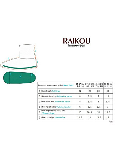 Raikou - Zapatillas de estar por casa para mujer Beige - Cream