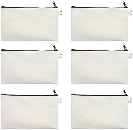 Aspire 6-Pack Canvas Pouches for DIY Project 7 3/4