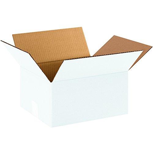 BOX USA B12106W Corrugated Boxes, 12