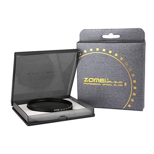 ZOMEi 77mm Ultra Slim ND2-ND400 Fader Variable Neutral Density Adjustable Lens Filter Ultra Slim ND Filter Optical Glass