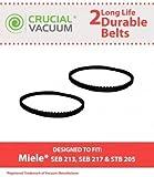 2 Miele Power Nozzle Belts, Part # 4897760
