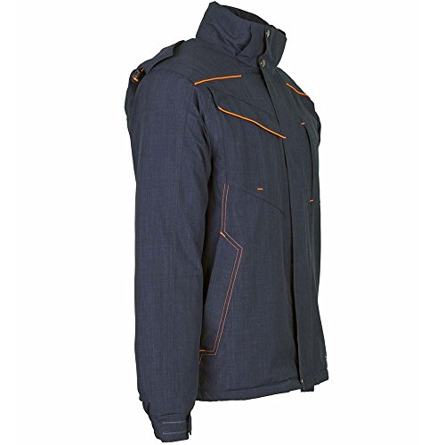 de chaqueta Naranja Azul S Naranja marino Marino invierno Azul nedón qZfIxvAw