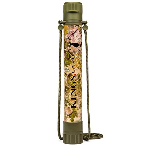 Alexapure Survival Spring Field Ready Water Filter in King's Camo Shadow Pattern