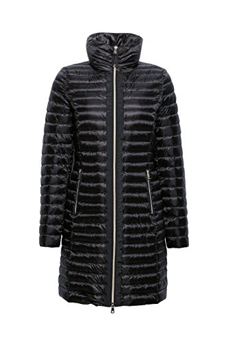 Collection Esprit Noir Femme Manteau black 001 Pddfqna