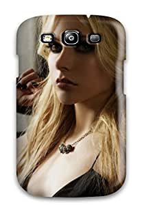 Awesome Avril Lavigne Flip Case With Fashion Design For Galaxy S3