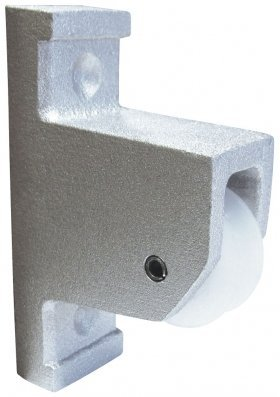 Eder Flag Pulley for Vertical Wall Mount Satin Finish ()